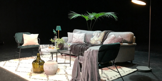 Scenstyling Playhouse Theater Stockholm